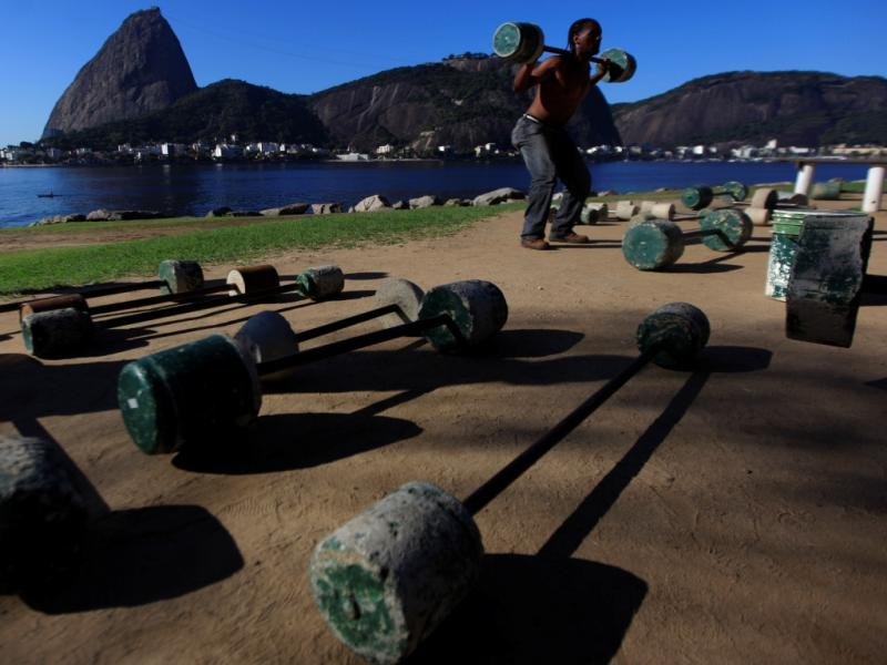 Rio de Janeiro já respira espírito olímpico de 2016 (Reuters)