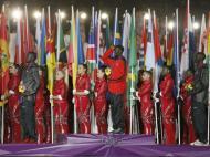 Maratona à altura: Stephen Kiprotich deu um ouro raro ao Uganda na prova-símbolo dos Jogos e teve direito a pódio na cerimónia de encerramento; Guor Marial, o atleta que correu sob a bandeira olímpica porque o Sudão do Sul ainda não podia ter equipa, foi