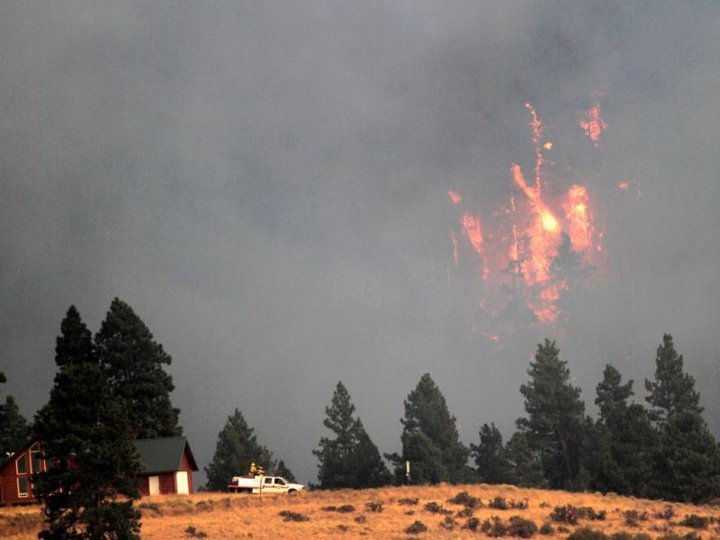 Incêndios nos EUA [Foto: Reuters]