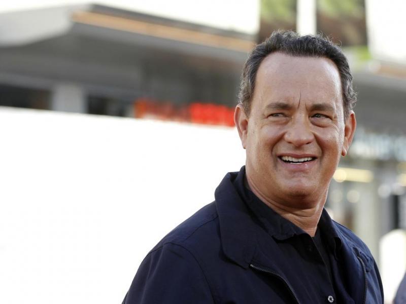 9. Tom Hanks, ator que ficou famoso com filmes como «Big» ou «Forrest Gump»