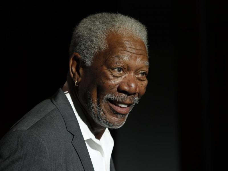1. Morgan Freeman já fez de Deus e Nelson Mandela no cinema  (Reuters)