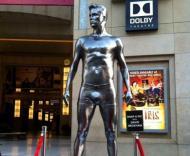 Estátuas de David Beckham espalhadas pelos EUA Foto: Facebook
