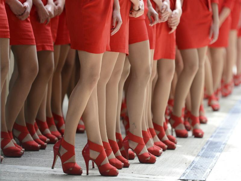 Ser feminina é... (Reuters)