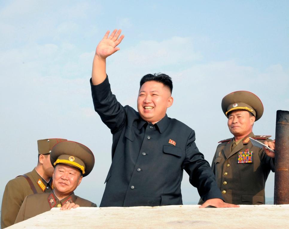 Kim Jong-un visitou unidade militar [Foto: REUTERS/KCNA]