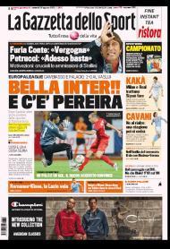 Gazzetta dello Sport (Itália): «Bello Inter e chega Álvaro Pereira»