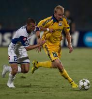 Liga dos Campeões: Hapoel Kiryat Shmona vs Bate Borisov (Lusa)