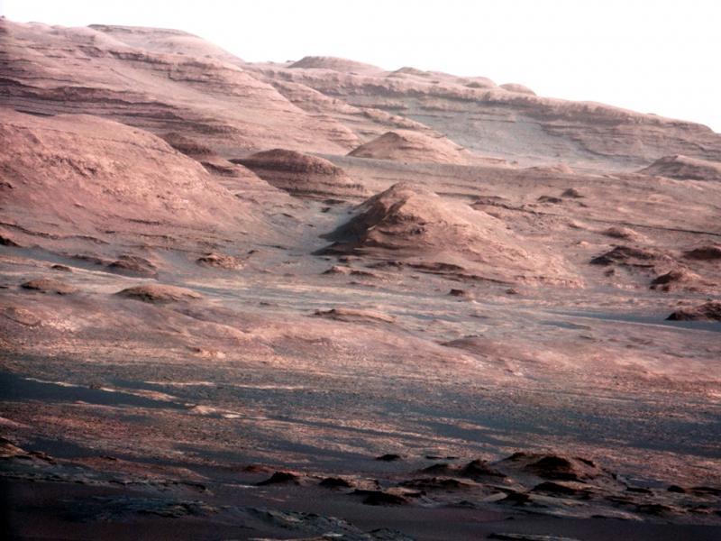 Curiosity envia imagens de Marte [Foto: Reuters]