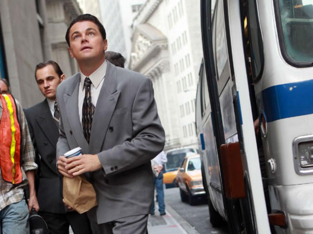 Imagens do filme «The Wolf of Wall Street» (Divulgação)