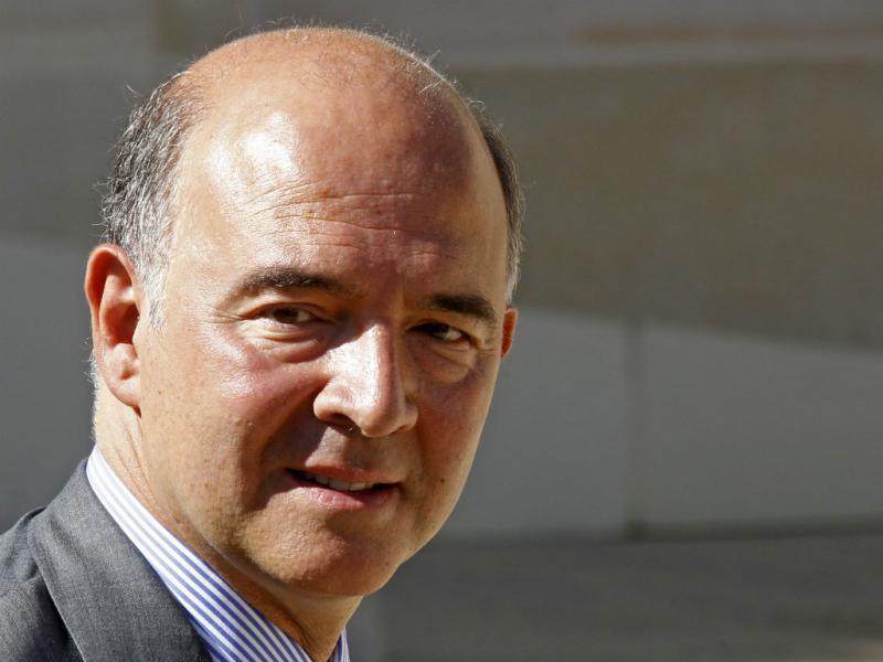 Pierre Moscovici, ministro das finanças francês