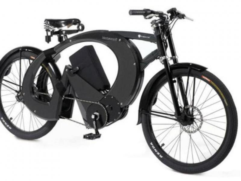 Bicicleta motorizada de luxo (foto divulgação)