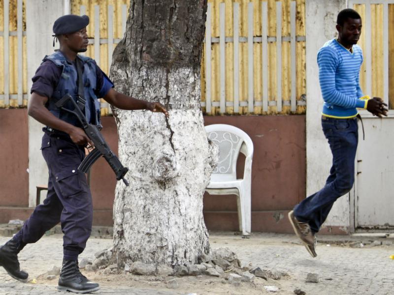 Polícia - Angola (Paulo Novais/Lusa)