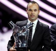 Andrés Iniesta é o melhor jogador da Europa Foto: Reuters