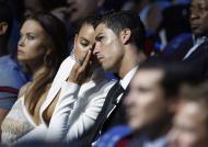 Cristiano Ronaldo e Irina Shayk no Mónaco Fotos: Reuters