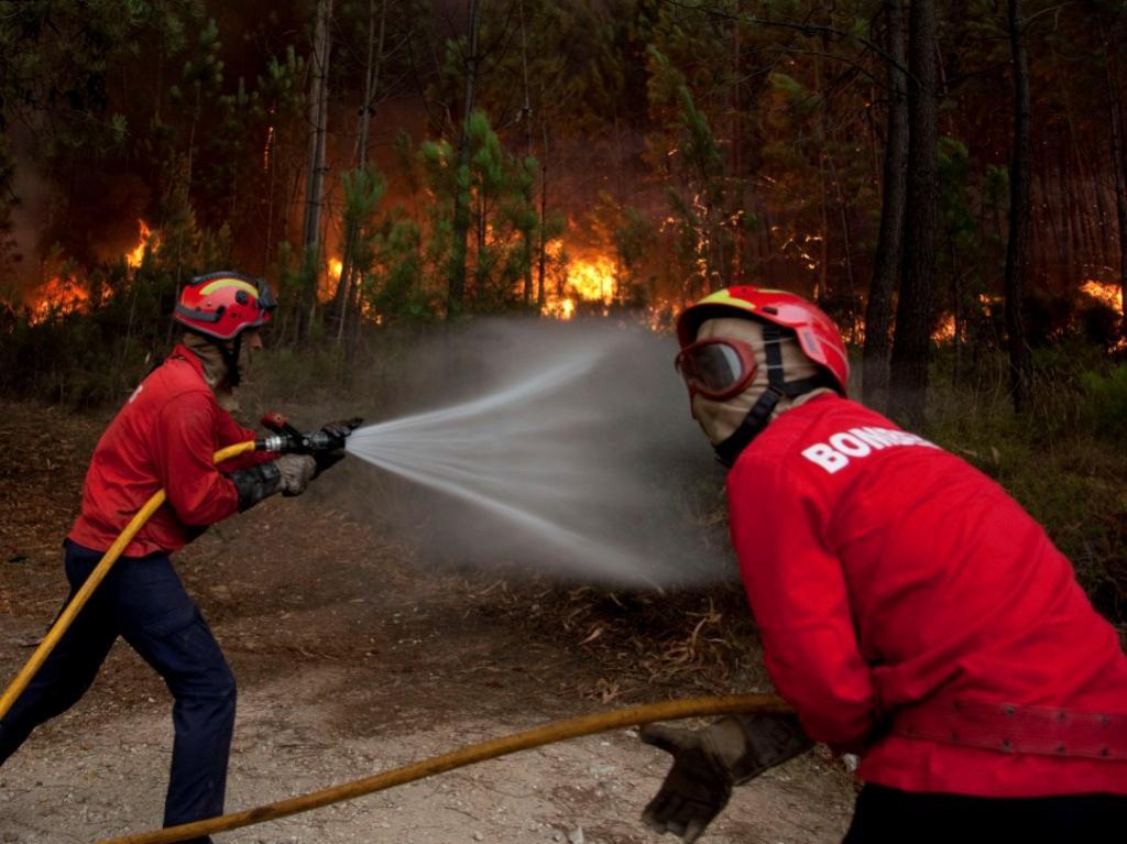 Incêndio em Ourém [LUSA]