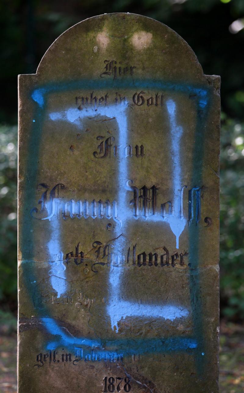 Nazis atacam cemitério judaico alemão