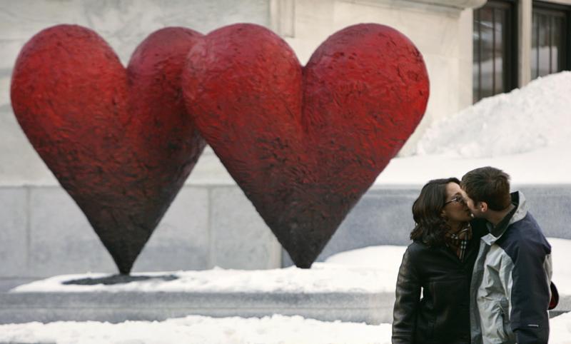 O amor está em todo o lado (Reuters)