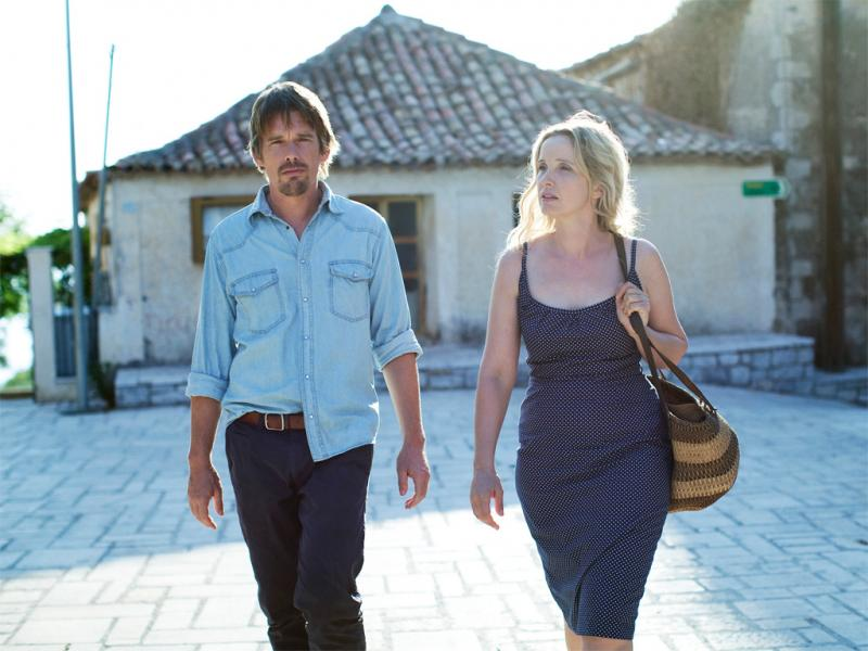 Ethan Hawke e Julie Delpy em «Before Midnight»