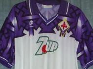 Equipamento alternativo Fiorentina (1992/93)