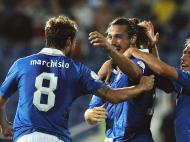 Bulgária vs Itália (EPA)