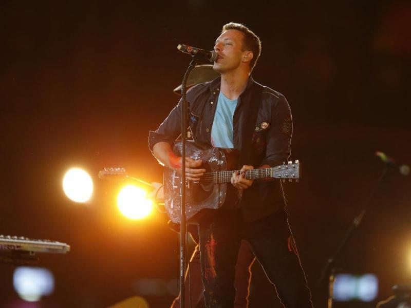 Coldplay no encerramento dos Jogos Paraolímpicos de Londres (Reuters)
