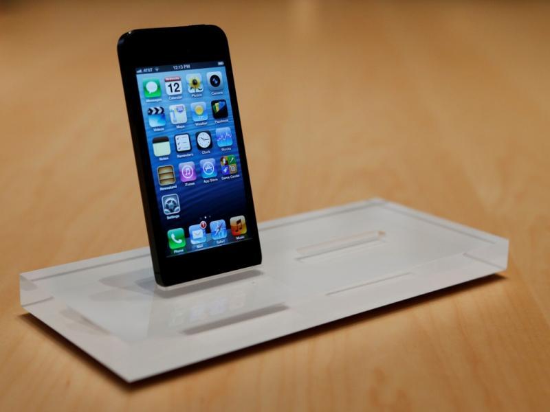 Novo iPhone 5 (Reuters)
