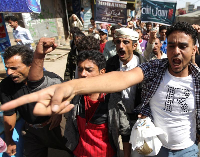 Protestos por causa do filme que satiriza Moamé chegam à embaixada dos EUA no Iémen (Reuters)