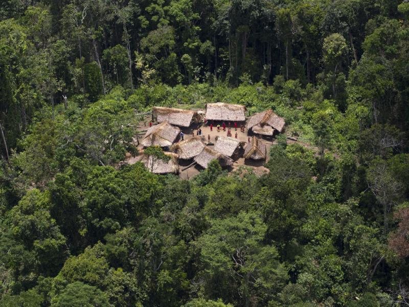 Tribo da Amazónia
