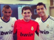 Iker Casillas goza com tristeza de Ronaldo