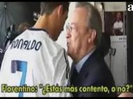 Florentino e Ronaldo
