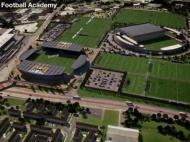 Nova academia de futebol do Man. City