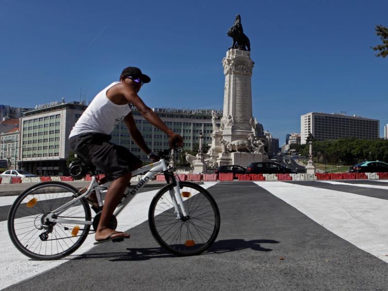 Alterações de trânsito na rotunda do Marquês de Pombal [LUSA]