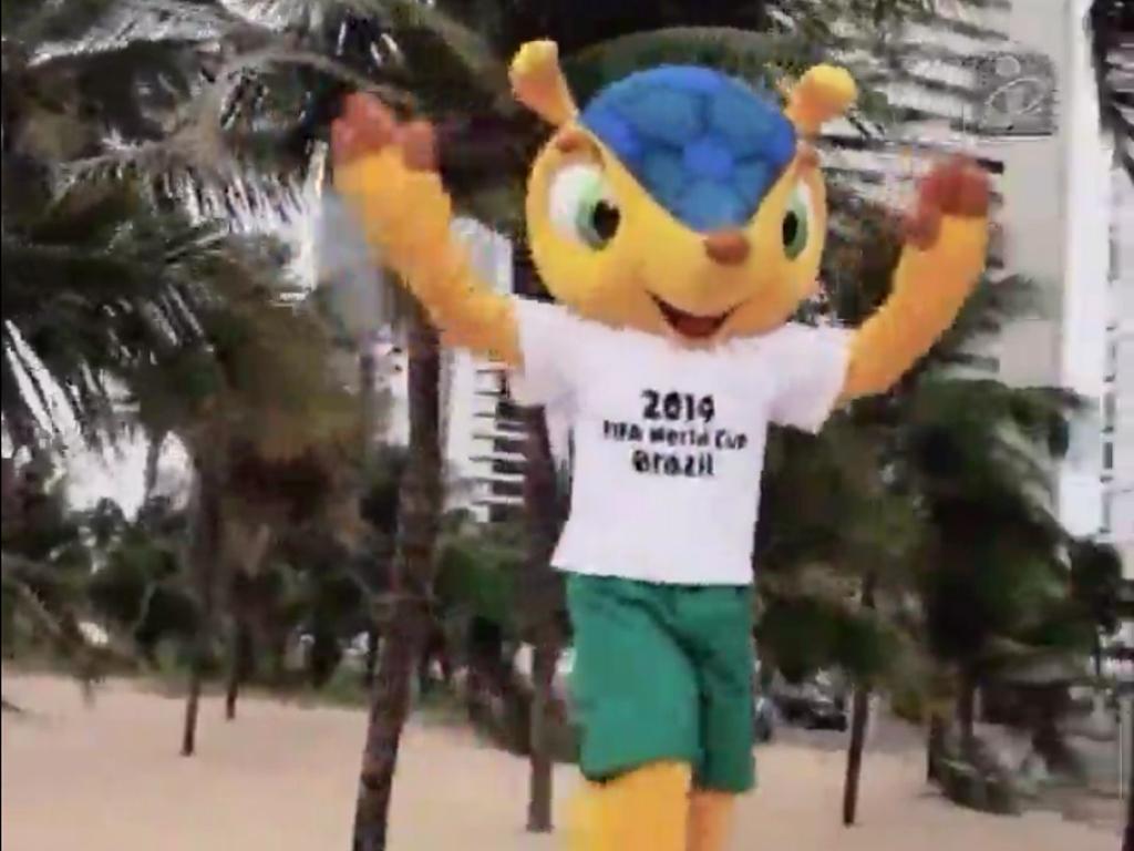Mascote do Mundial