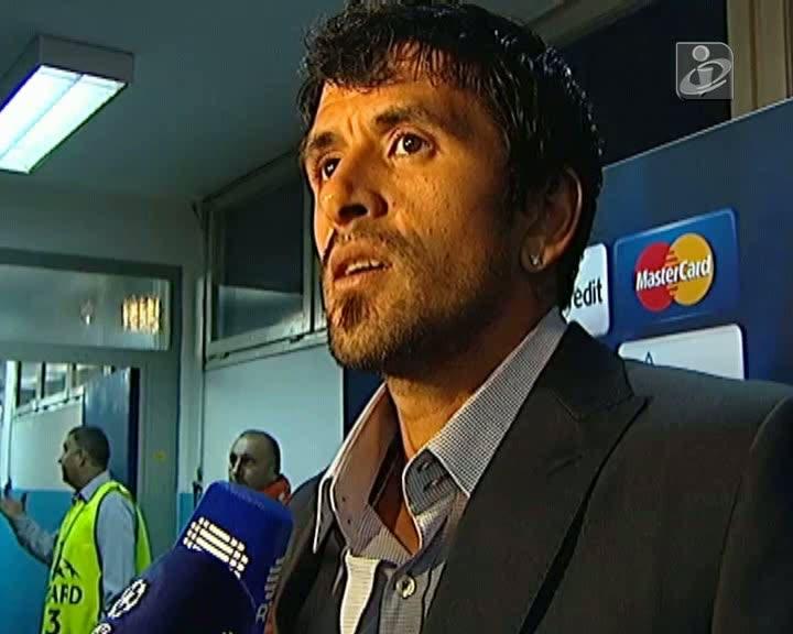 Lucho fala do luto e do jogo em Zagreb