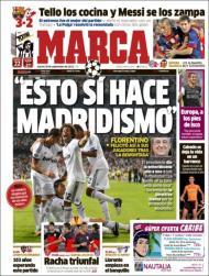 Marca: as palavras de Florentino à equipa depois do City