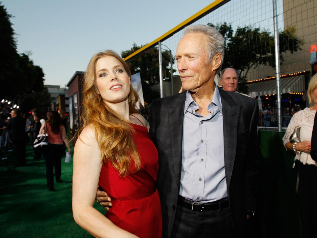 Clint Eastwood e Amy Adams na antestreia de «As Voltas da Vida» em Los Angeles (Reuters)