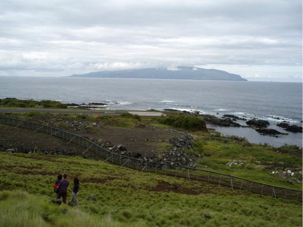 Ilha do Corvo, nos Açores (Eduardo Costa/Lusa)