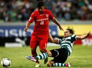 Sporting-Gil Vicente, 2-1 (Foto: Manuel Almeida/Lusa)
