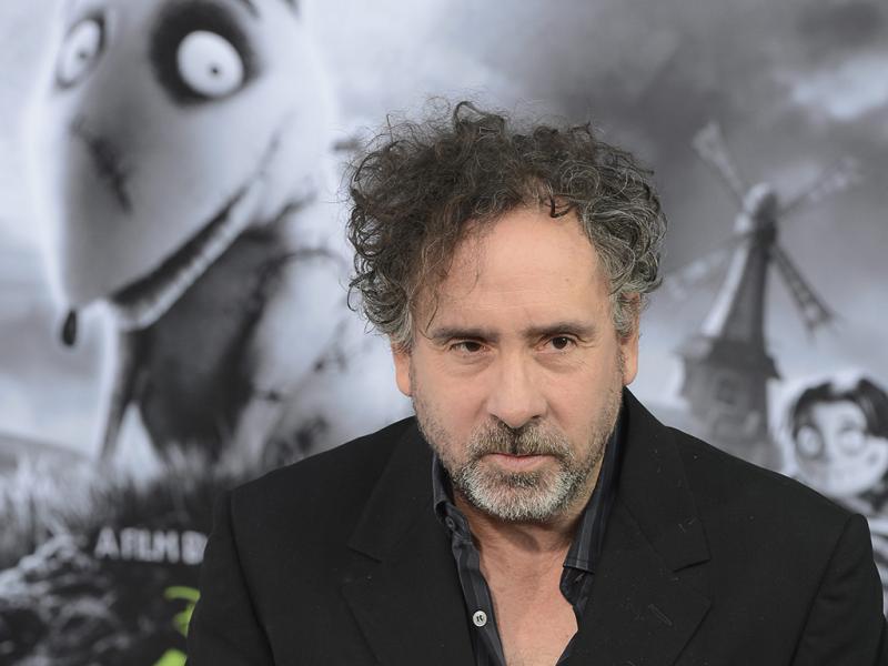 Tim Burton na antestreia de «Frankenweenie» em Hollywood (Lusa)