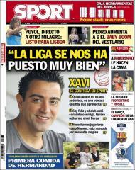 Sport: Xavi e a Liga que se pôs a jeito