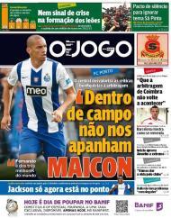 O Jogo: Maicon responde ao Benfica