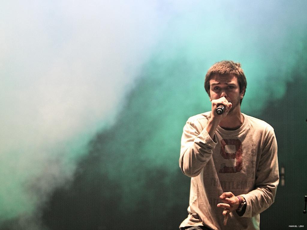 Filipe Pinto no festival Sudoeste TMN 2011 (foto: Manuel Lino)