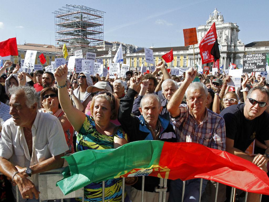 Manifestação da CGTP (Reuters)