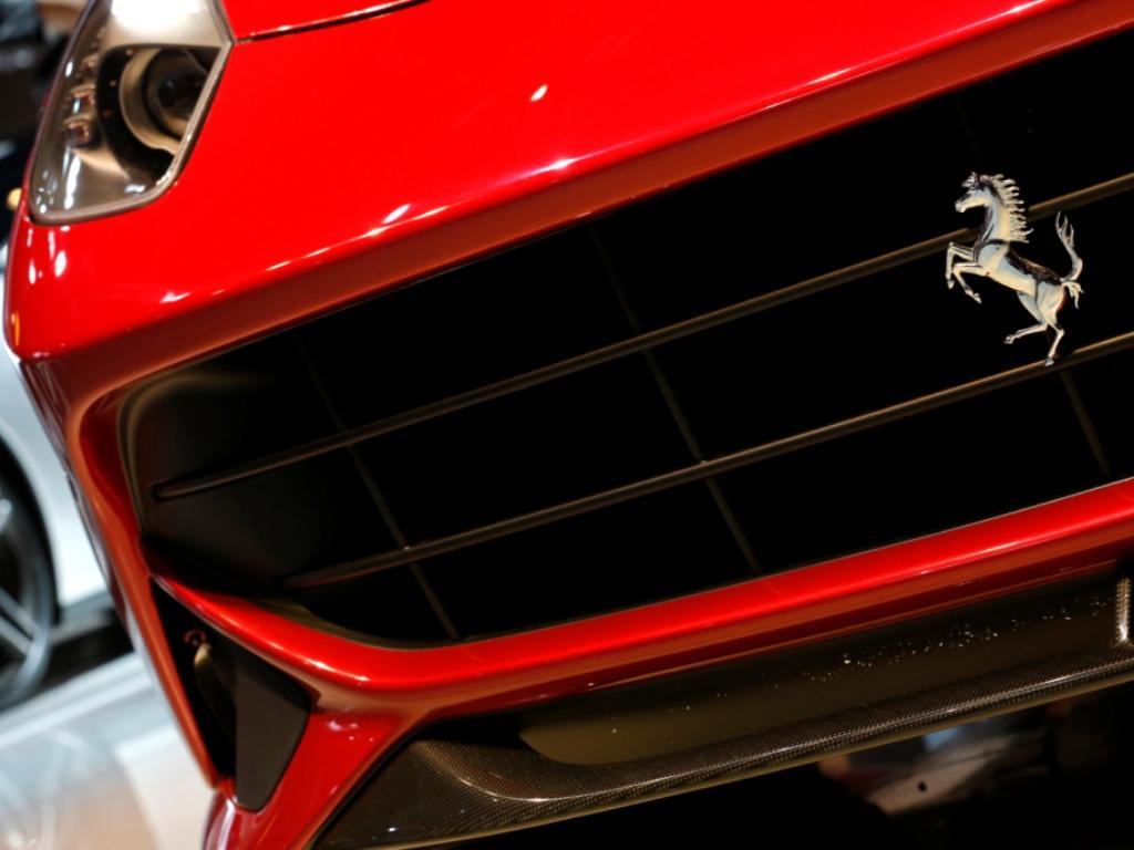 Salão Automóvel de Paris - Ferrari Berlinette (Reuters)