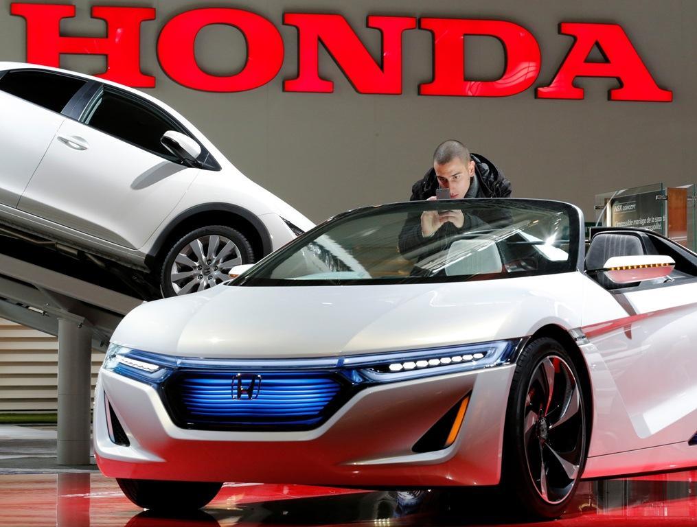Salão Automóvel de Paris - Honda Ev-Ster concept car (Reuters)