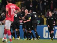 Spartak Moscovo vs Celtic Glasgow (EPA)