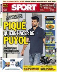 Sport: Piqué quer fazer de Puyol