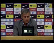 Mourinho comenta o Clássico do Camp Nou