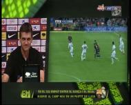 Vilanova critica as «patadas» de Pepe