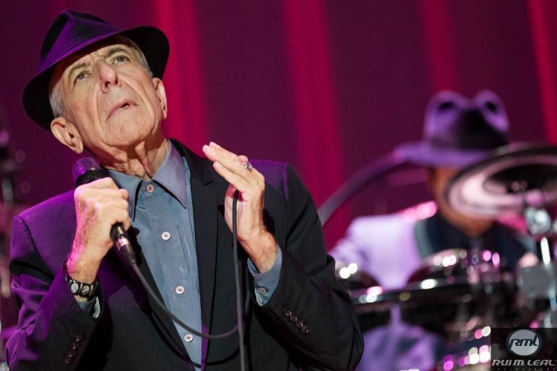 Leonard Cohen na digressão Old Ideas em Lisboa (Rui M. Leal)