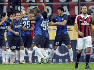 MIilan-Inter: Samuel resolveu o derby e vitória para os nerazzurri